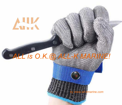 Stainless Steel Gloves For Cutting Meat All K Marine Co