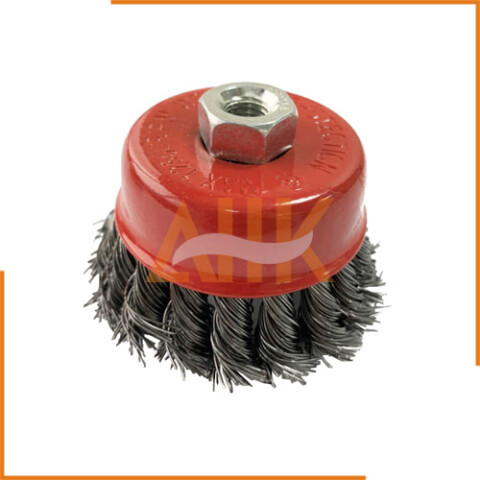 Wire Cup Brush Threaded Nut Type