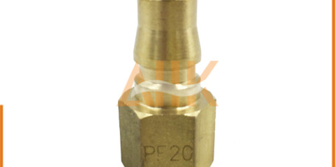 Female Thread Type Brass Quick Connect Couplers PF Series Plug