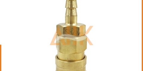Hose End Type Brass Quick Connect Coupler