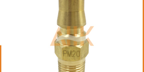 Male Thread Type Brass Quick Connect Couplers PM Series Plug