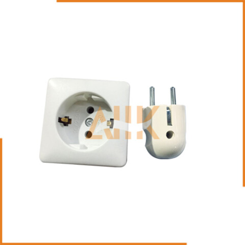 Non-Watertight Siemens Cable Plug and Single Receptacle