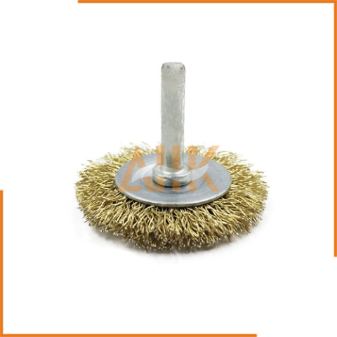 Shaft Welded Wire Cup Brush