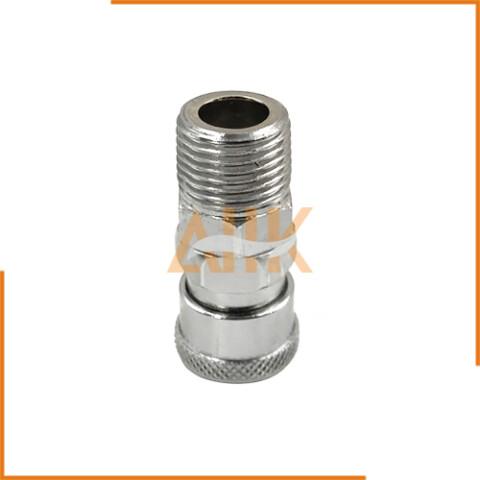 Single End Shut Off Coupler Metal Thread Type SM Series Socket